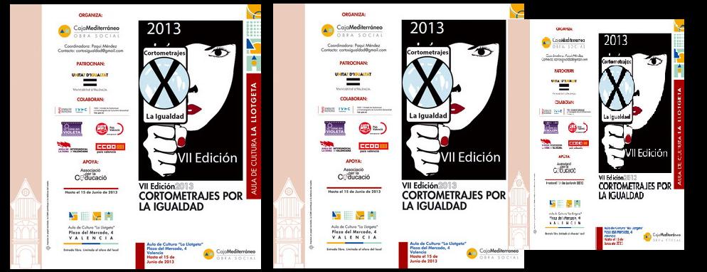 VII Edición Cortos por la Igualdad. Finalistas 2013