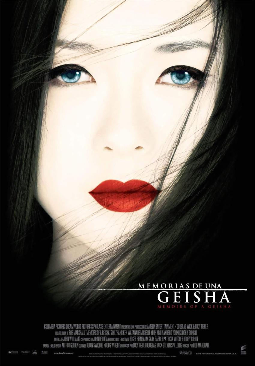 Memorias de una geisha 2005 DVDRip audio latino -