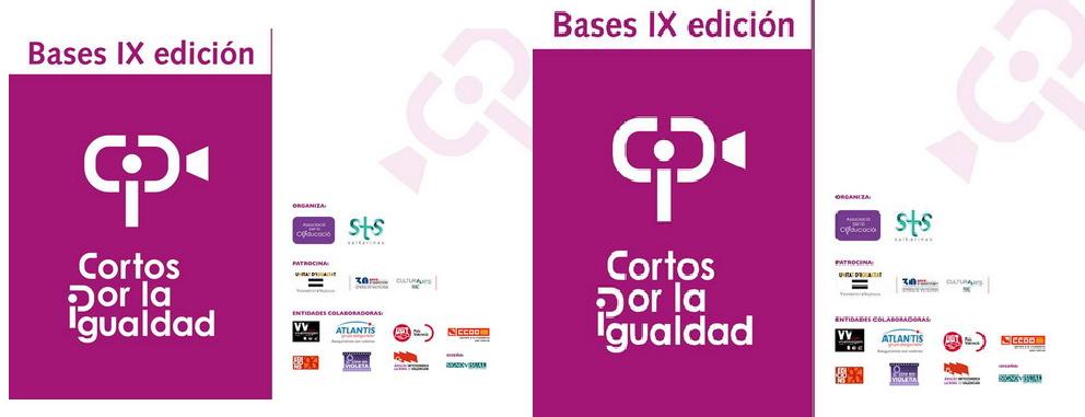 Bases IX edición Cortos por la Igualdad