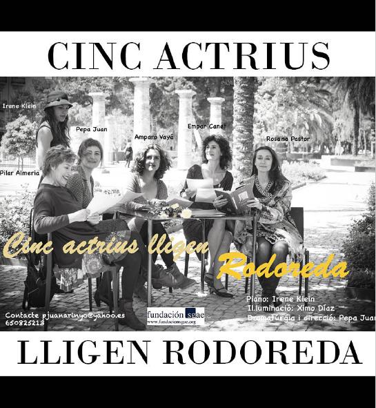 5 actrius lligen Rodoreda