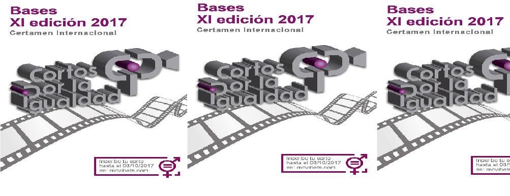 Bases XI Edición de Cortos por la Igualdad, certamen internacional