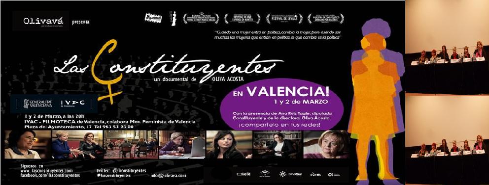 Presentación de Las Constituyentes en Valencia